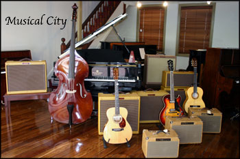 Musical City Guitars Amplifiers Pianos Instrument Retail